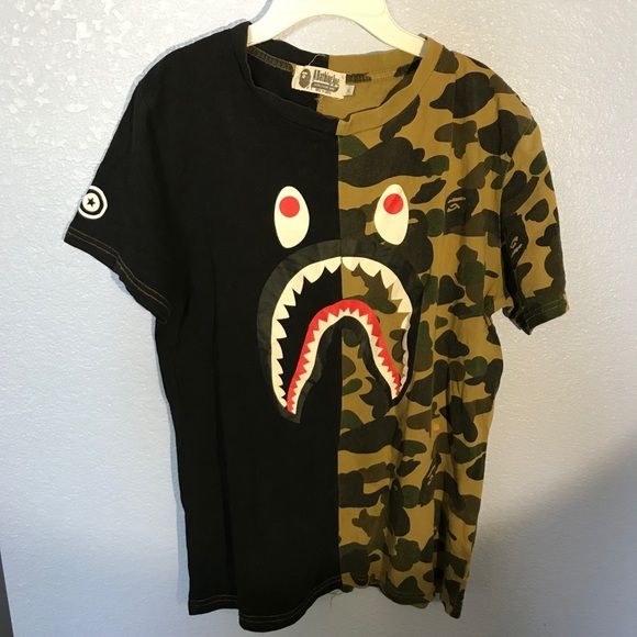db8b21e6 Bape Shirts & Tops | Bathing Ape T Shirt | Poshmark
